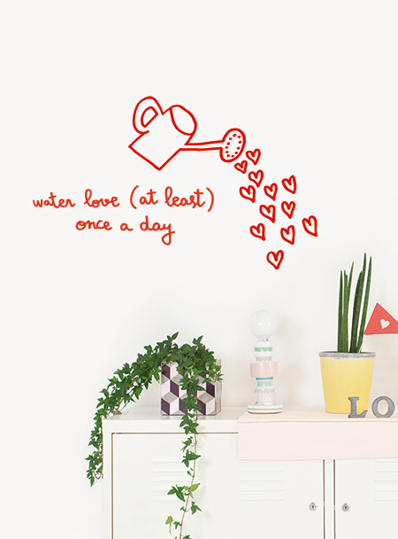 Fall in love with our wall stickers